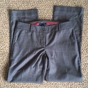 TH gray pinstripe dress pants / size 8